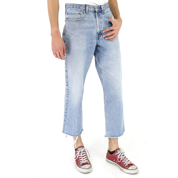 550 straight Cropped vintage Levi's