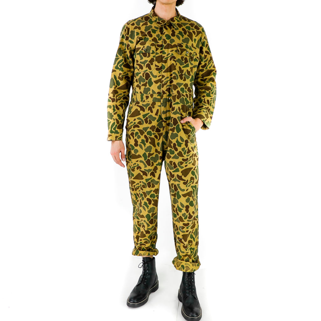 High Contrast Camo Jumpsuit