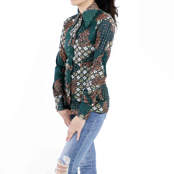 Sacramento Green Tapestry Blouse