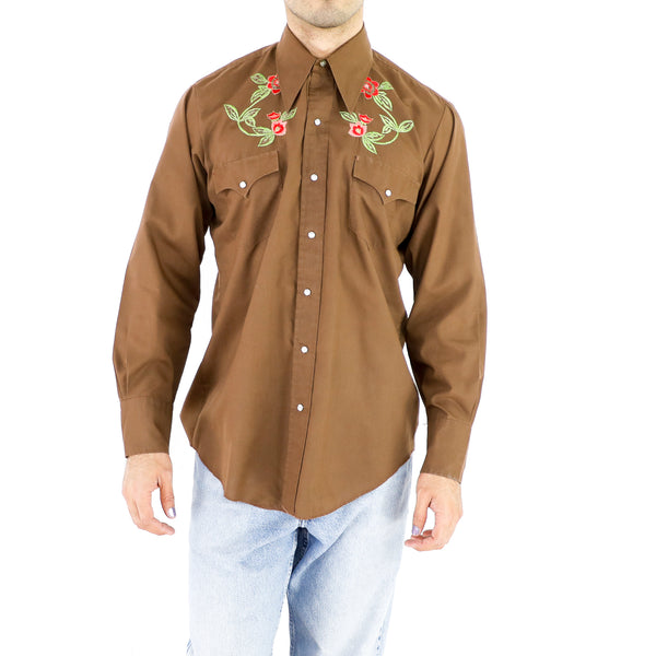 Brown Western Shirt