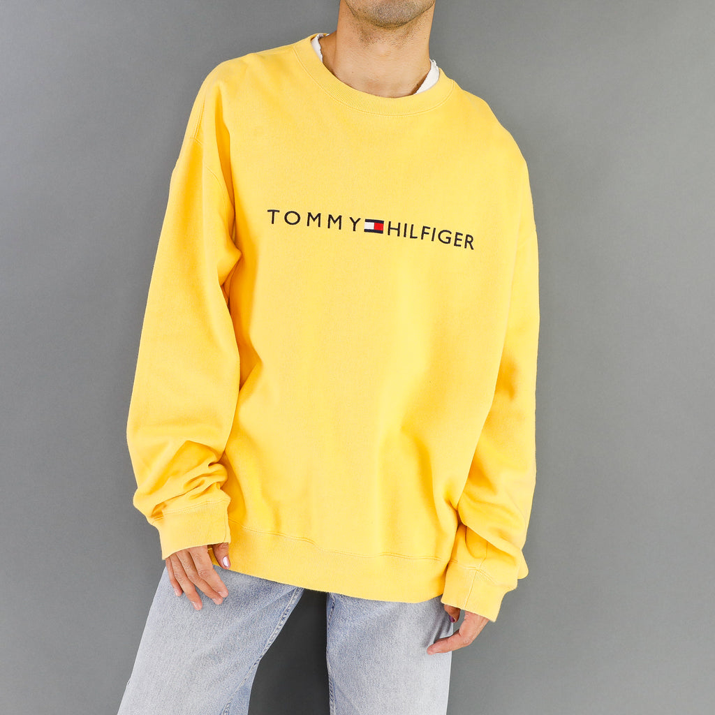 Yellow Tommy Hilfiger Sweatshirt