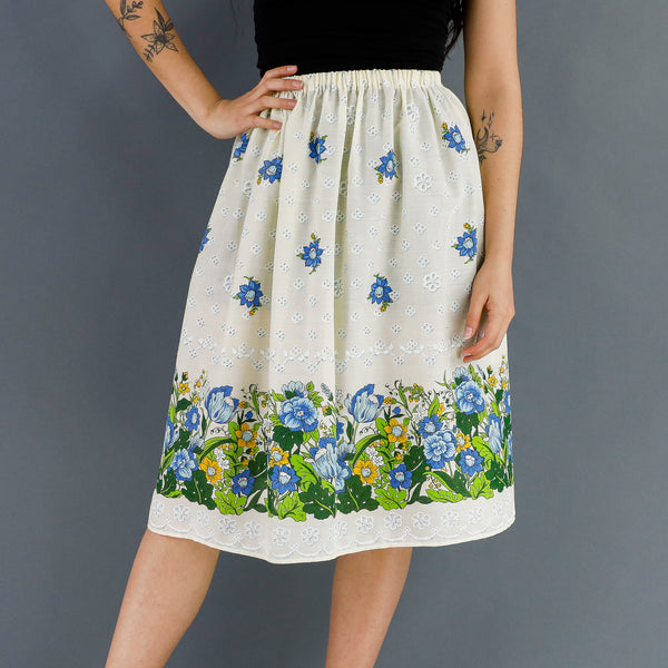 Forget Me Nots Skirt