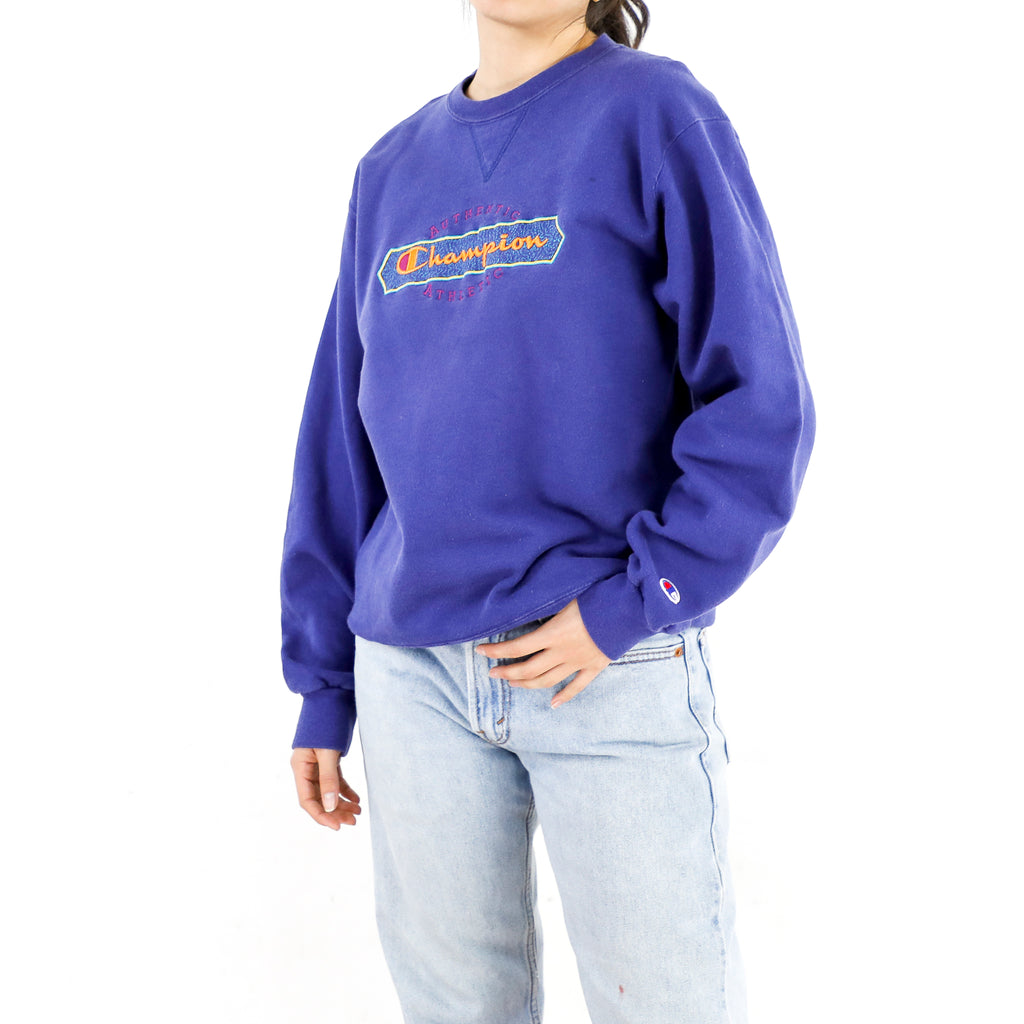 Ultra Purple Champion Sweatshirt