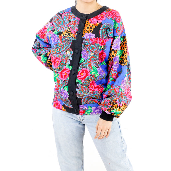 Technicolor Print Jacket