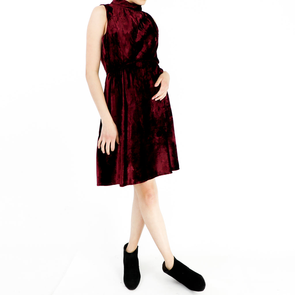 Dark Ruby Dress