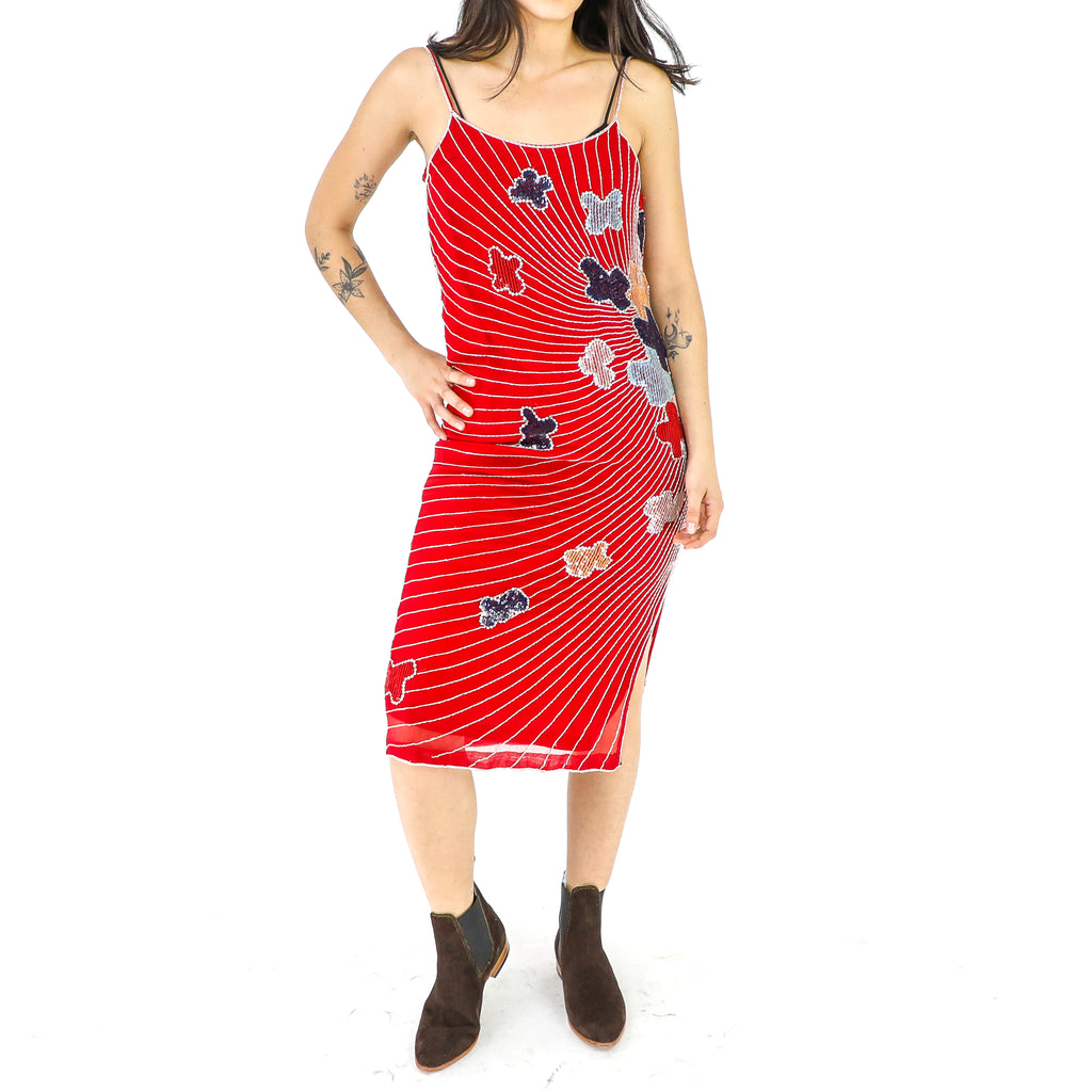 Candy Apple Red Sun Dress