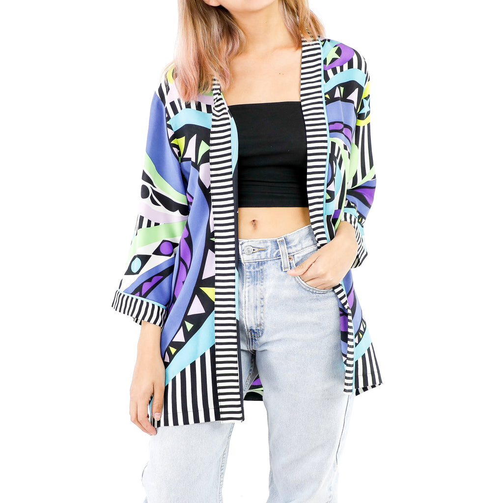 Purple Spiral Blazer