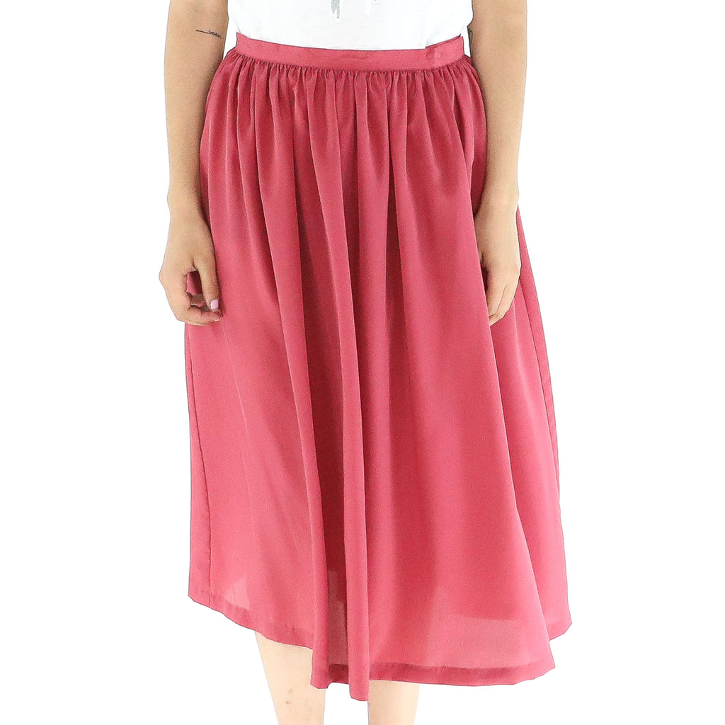 Amaranth 50's Skirt