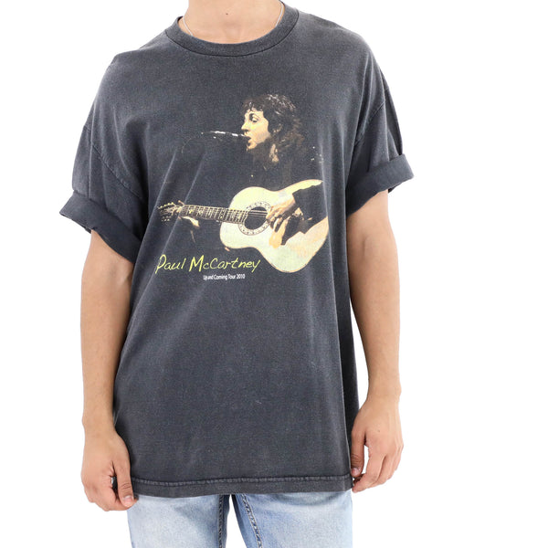 Paul McCartney 2010 Up and Coming Tour Vintage T-shirt