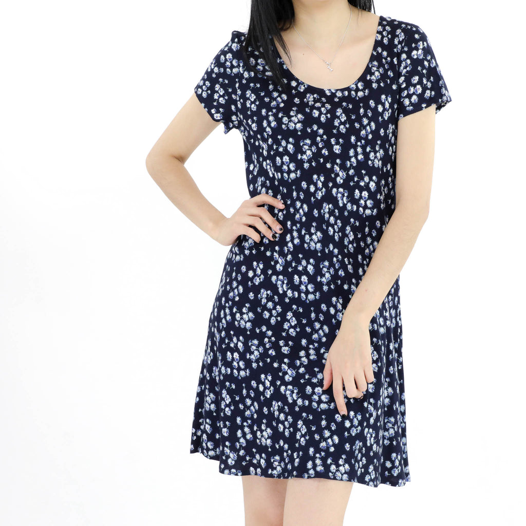 True Blue Daisy Dress