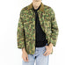 Contrast Collar Army Jacket