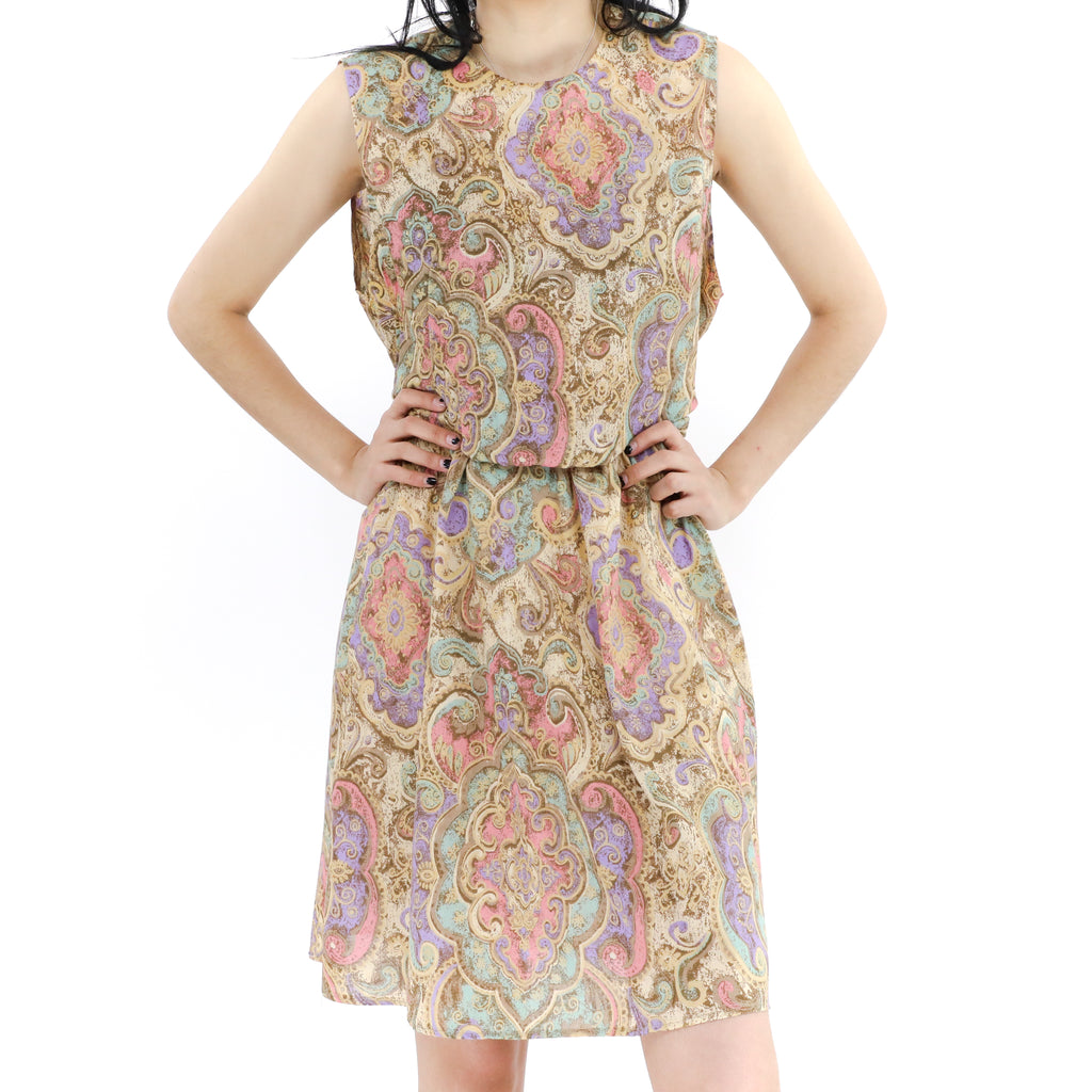 Pastel Flowered Dress