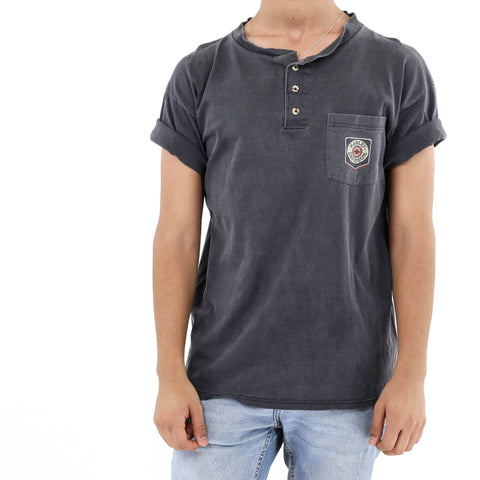 Harley-Davidson one pocket Henley Shirt