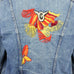Southwest Embroidery Denim Jacket