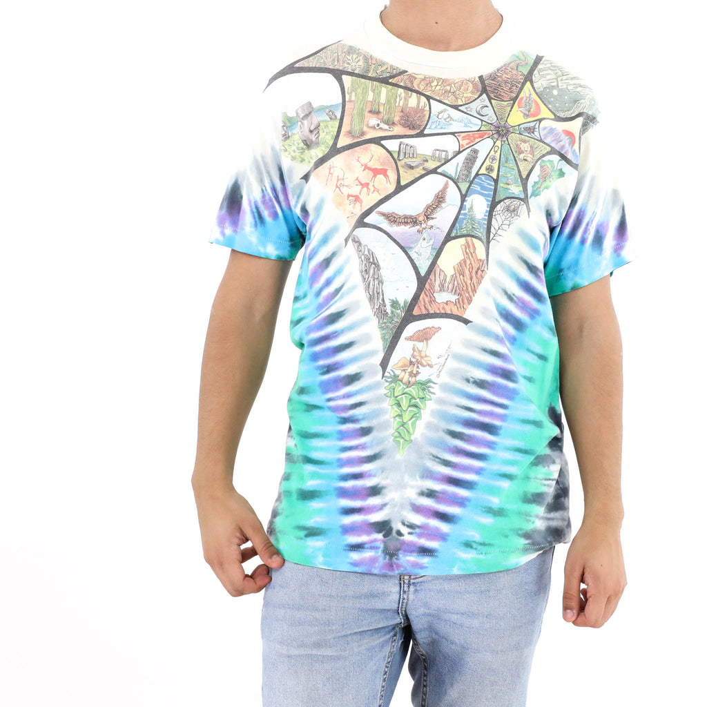 Novelty Spider Web T-Shirt