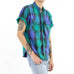 Madras Plaid Short Sleeve Shirt