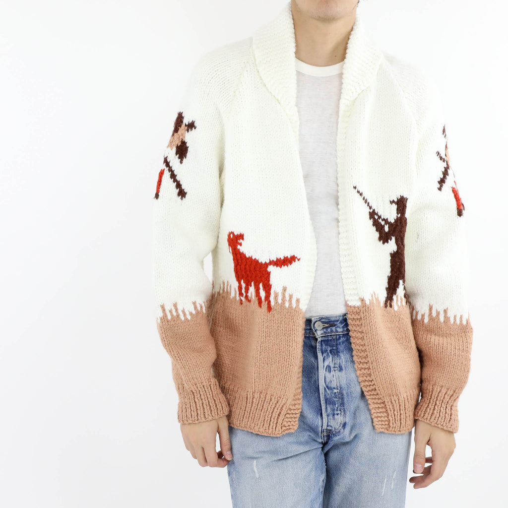 Cowichan Hunter Cardigan