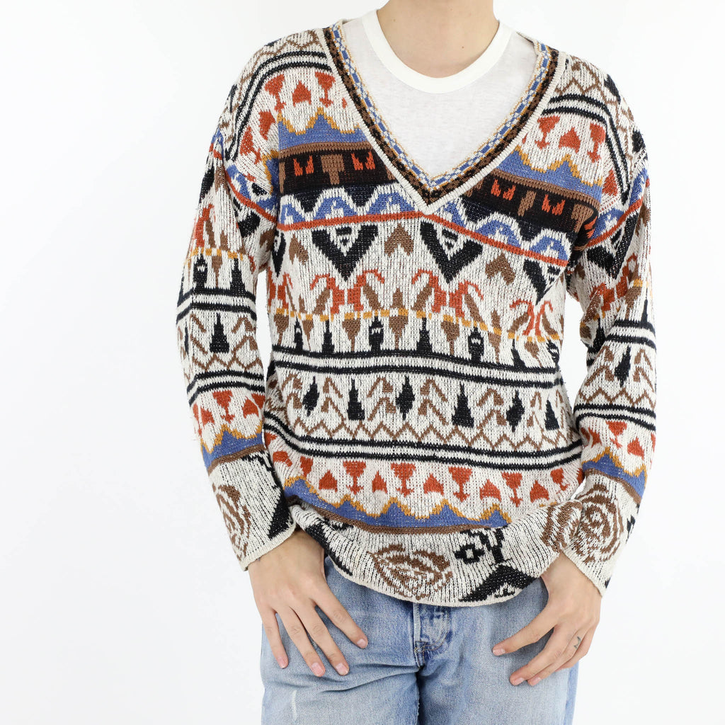 Andean V-Neck Sweater