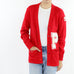 Vintage Embroidered Varsity Cardigan