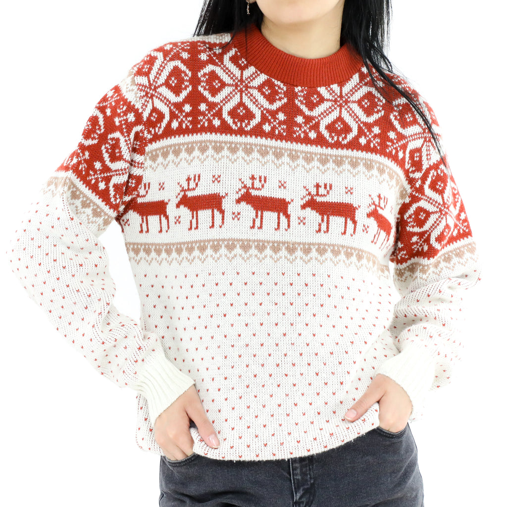 Cowichan Moose Sweater