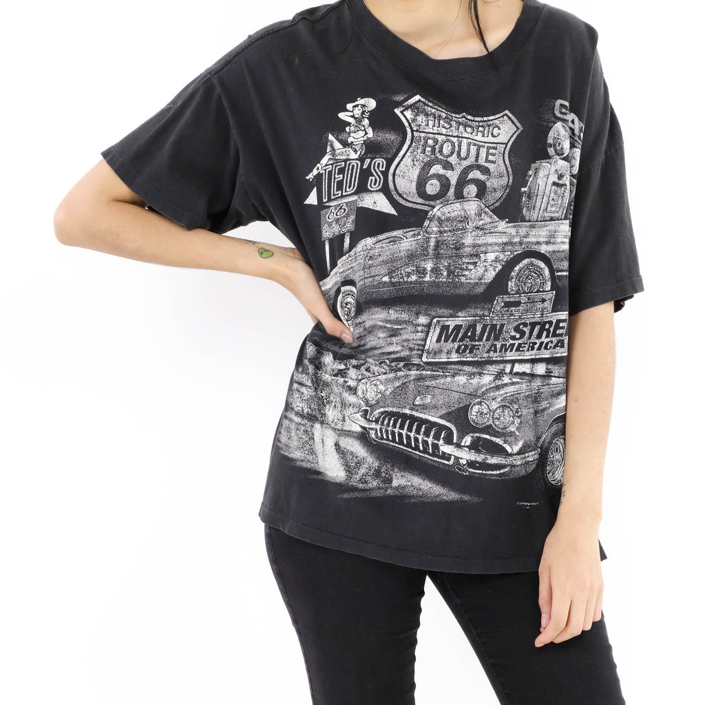 Route 66 Main Street of America T-Shirt
