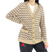Arch Laced Pointelle Cardigan