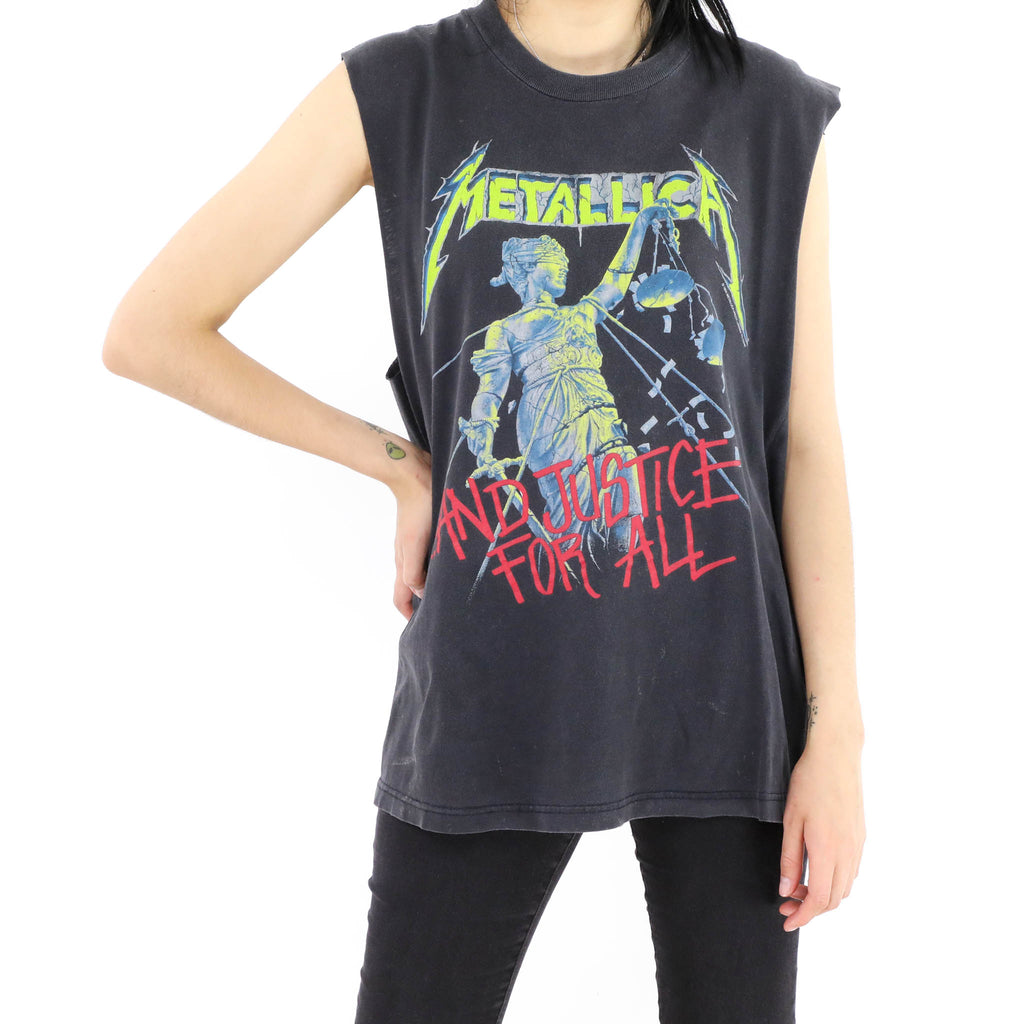 Metallica And Justice For All Muscle Tee