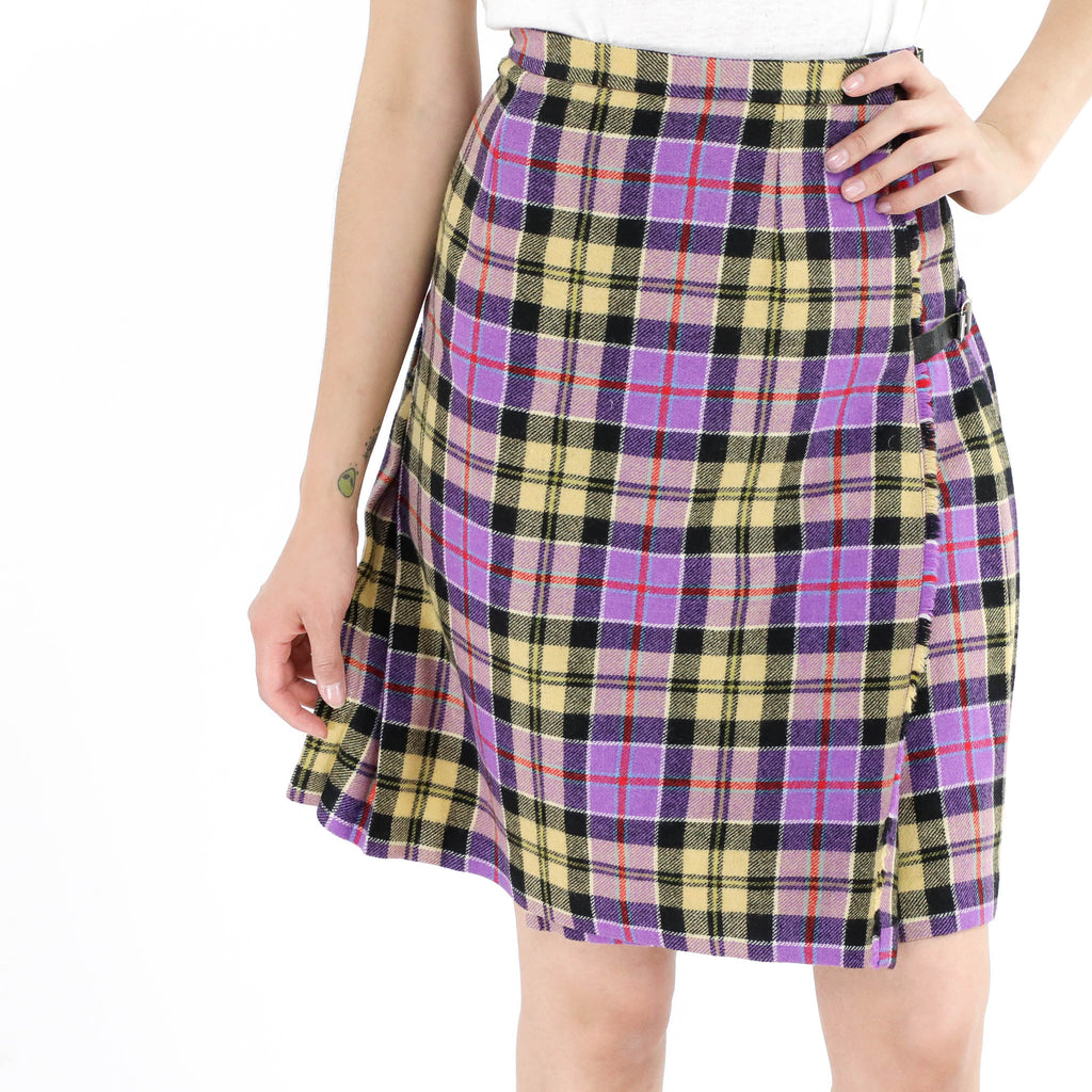 Purple & Yellow Skirt