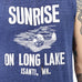 Isanti Minnesota Long Lake Muscle Tee