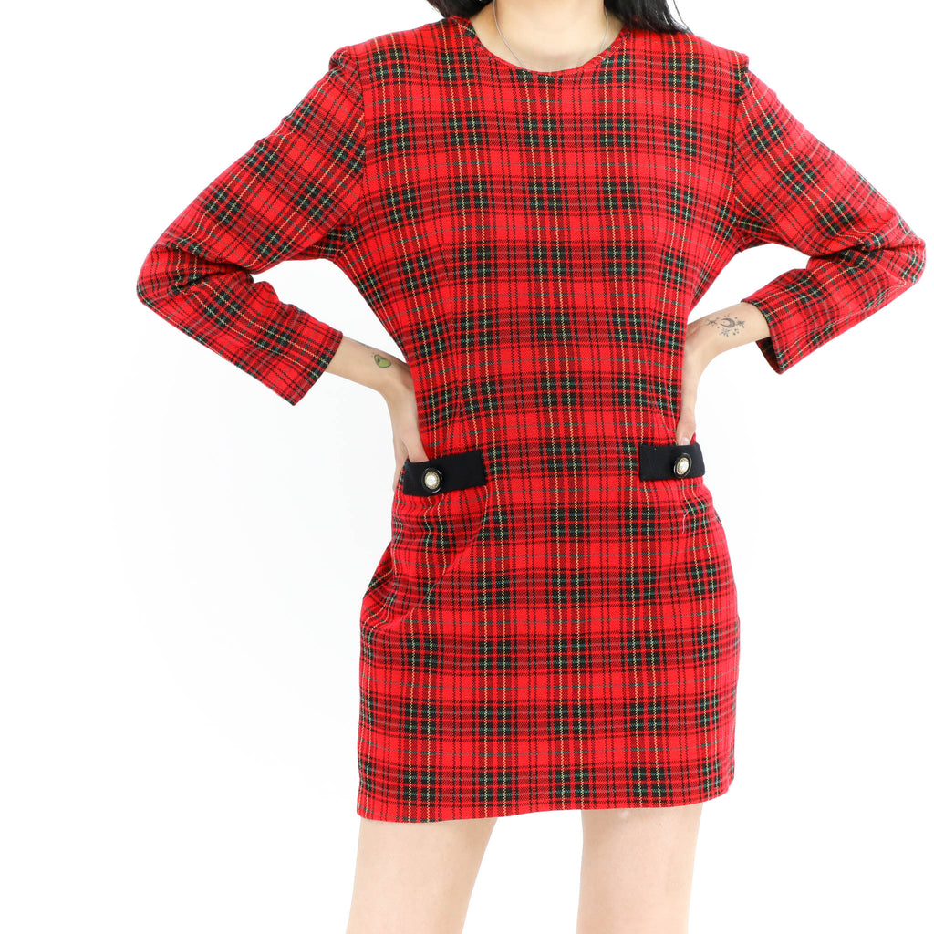 Tartan Mini Dress