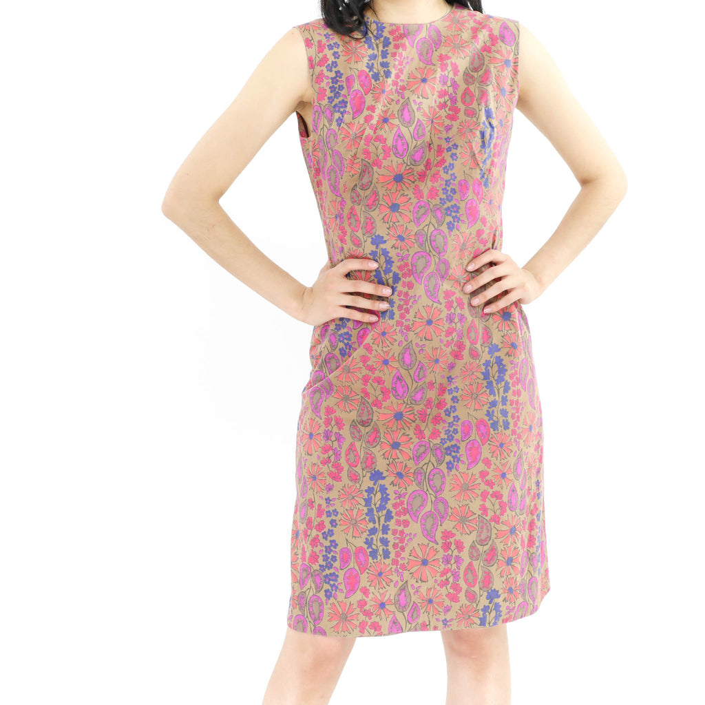 Paisley Sheath Dress