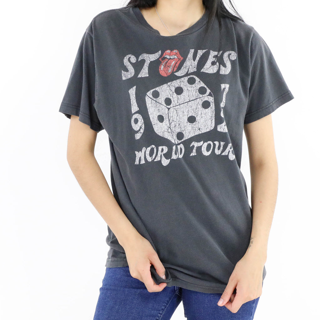 The Rolling Stones 1972 World Tour T-Shirt