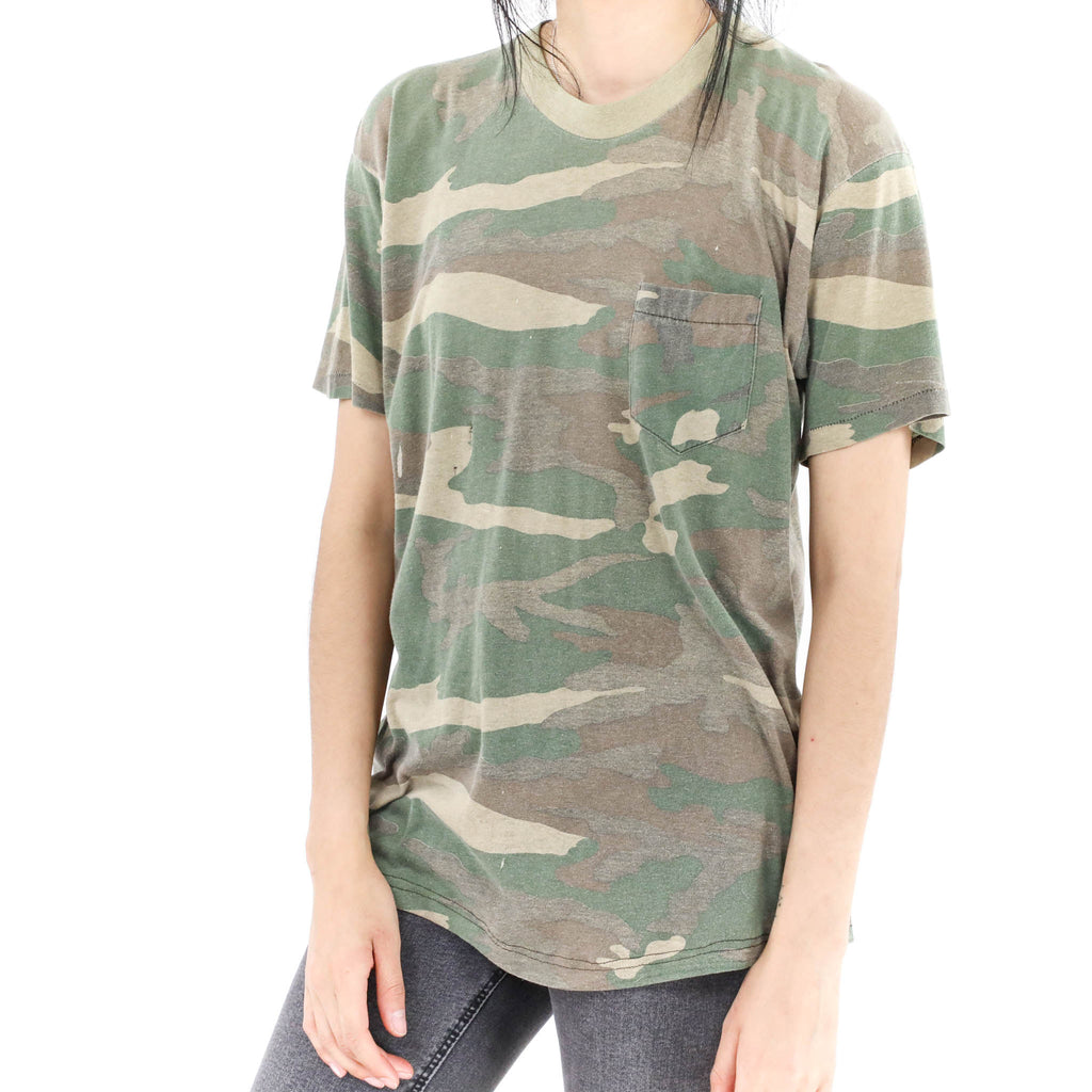Faded Camo Vintage T-shirt