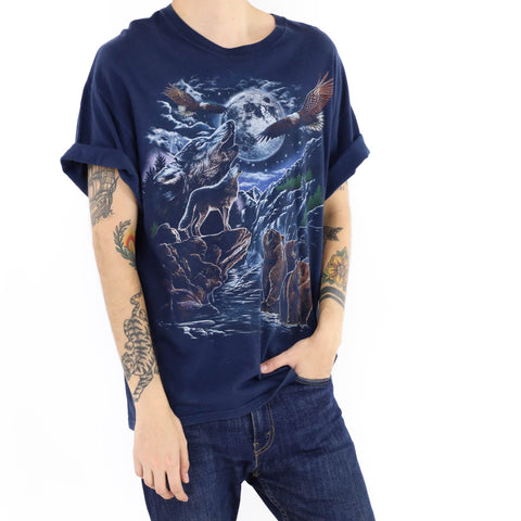 Full Moon Wolf T-Shirt