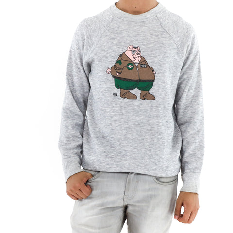 Cartoon Pig Sweatshirt