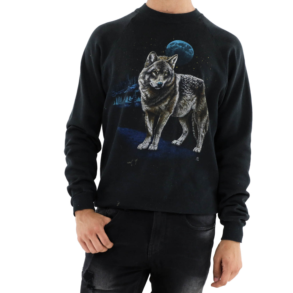 Blue Moon Wolf Sweatshirt