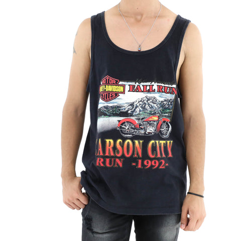 Harley-Davidson Carson City Run Vintage  Muscle Tee