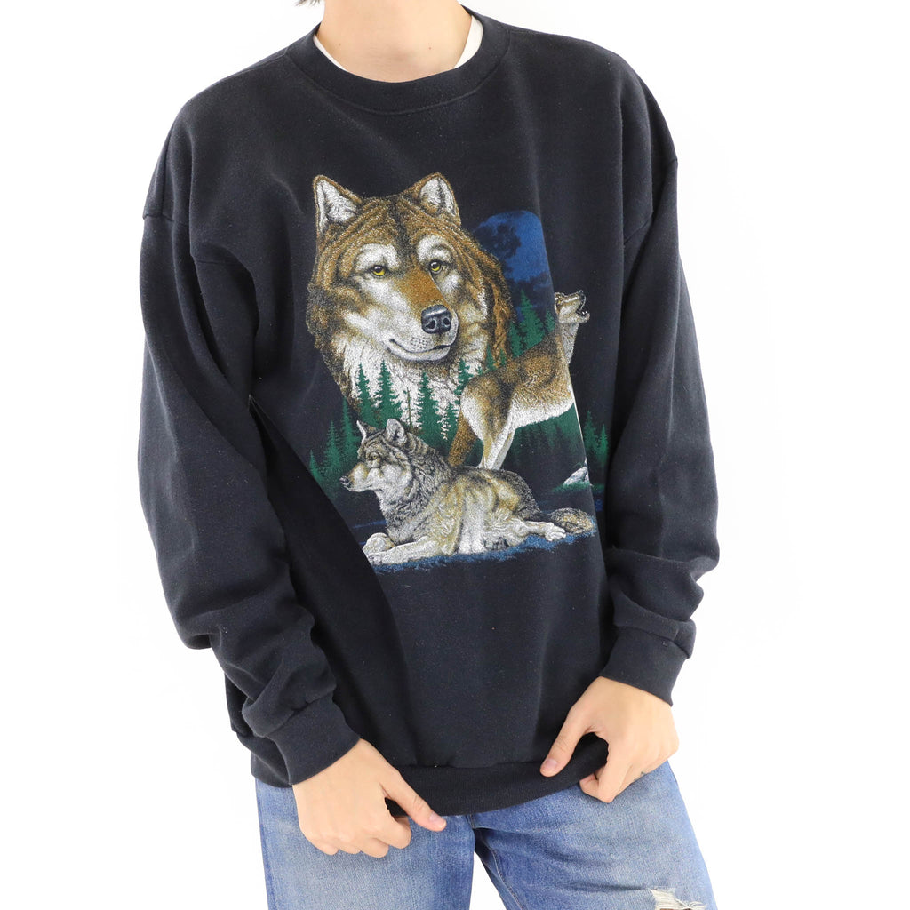 Brown Wolf Sweatshirt