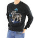 Blue Moon & Wolf Sweatshirt