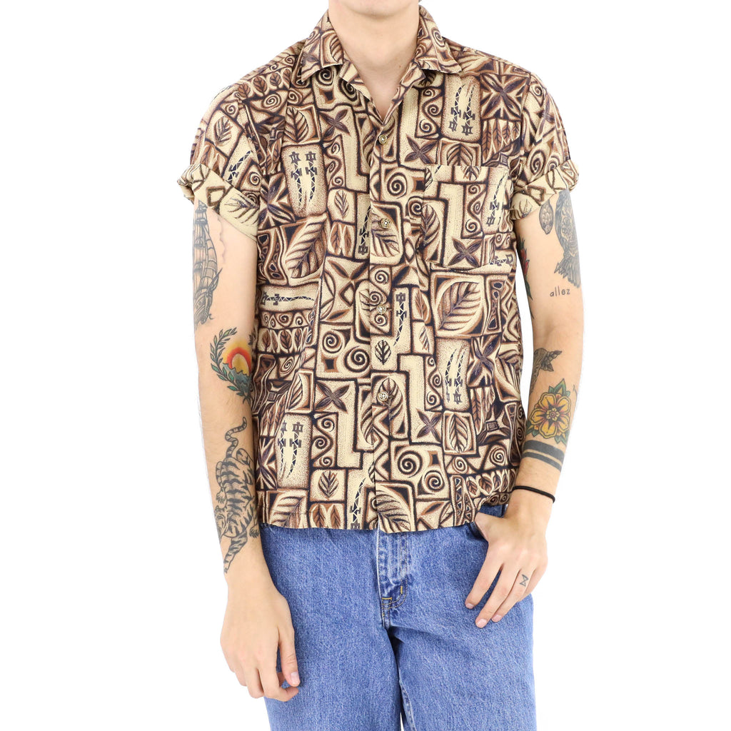 Brown Leaves Shirt