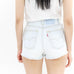 Light Blue Cutoff Denim Shorts