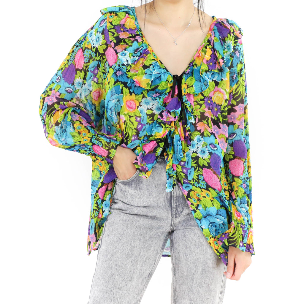 Floral Multicolored Blouse