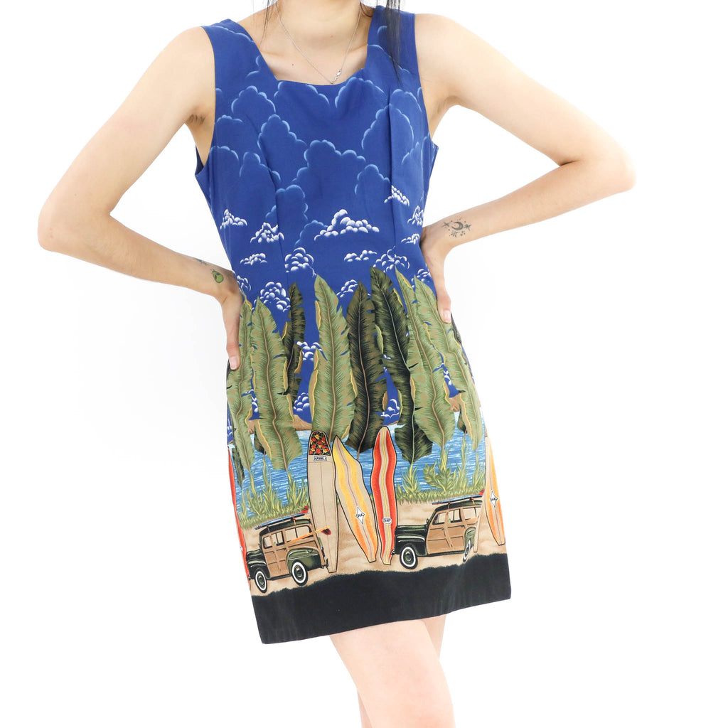 Let's Go Surfing Dress