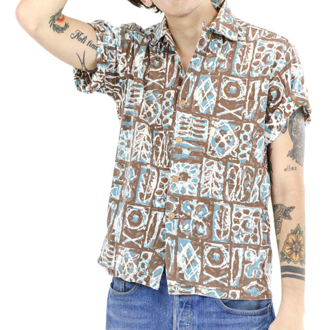 Pacific Print Muscle Shirt