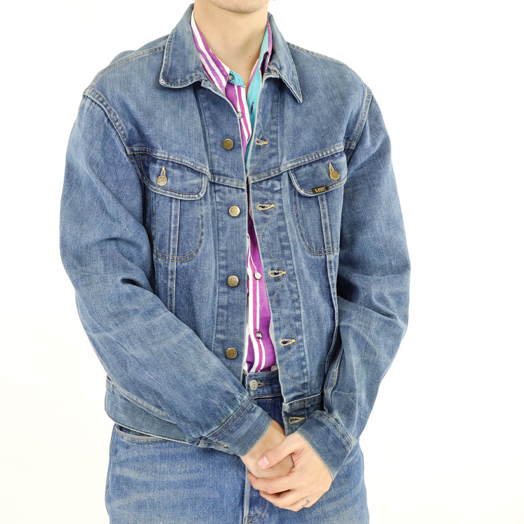 Whiskered Denim Jacket
