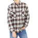 Quilted Madras Plaid Flannel Shirt