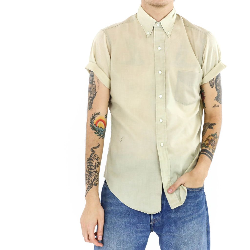 Ivory Short Sleeve Shirt