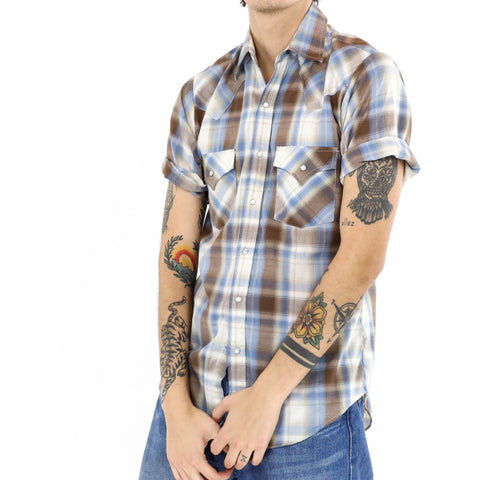 Madras Plaid Muscle Shirt