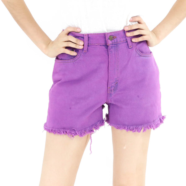 Levi´s Violet Denim Shorts