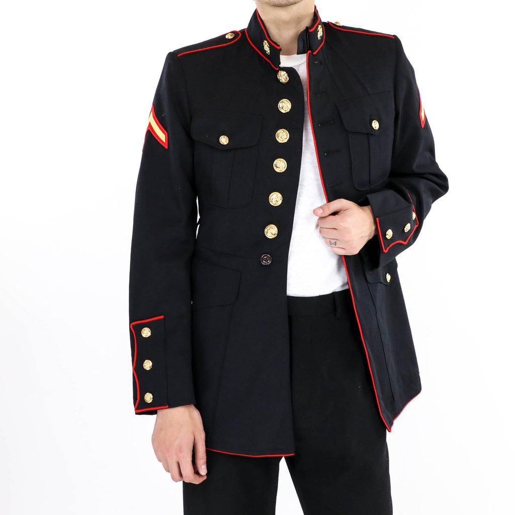 Vintage Military Band Uniform